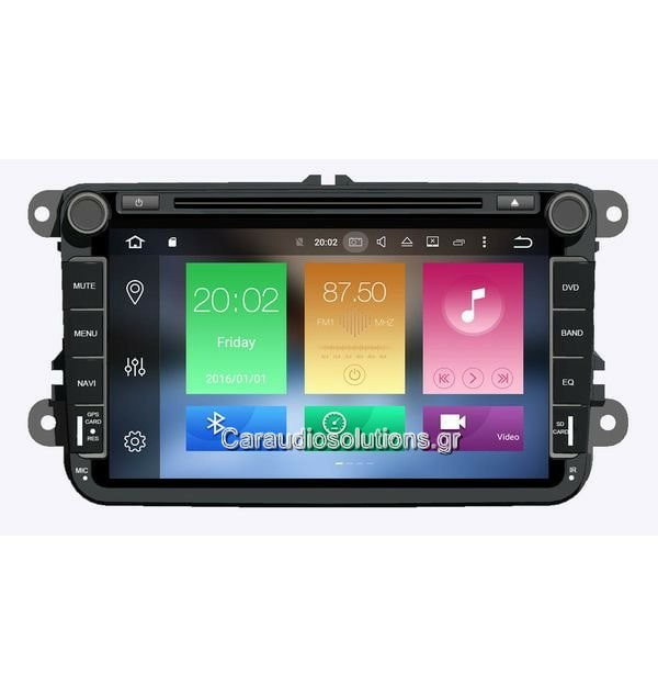 AQ Navi   AQ91370  VW Caddy 2003-2016   Android 8  Caraudiosolutions