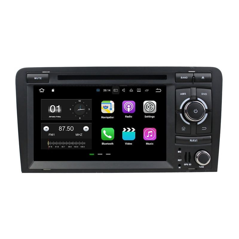RNavigator S800 Audi A3 S3  Android 7.1.2 Caraudiosolutions