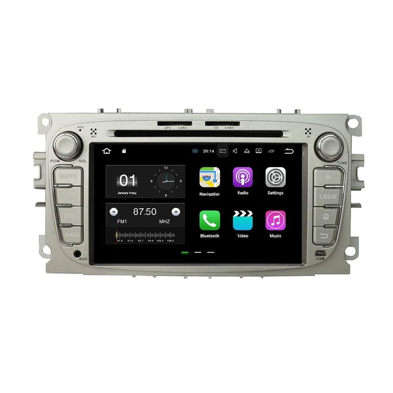 RNavigator S800 Android 7.1.2 Ford S-max 2007-2011