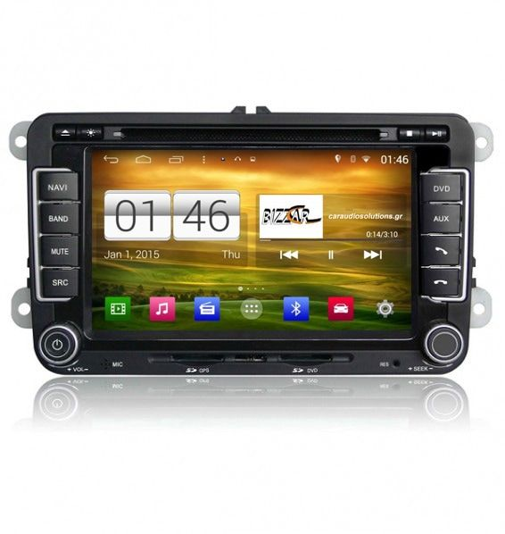 M004 M305 S160 VW Group Skoda Roomster  Winca Roadnav RN RNavigator RN platinum Android 4.4.4 Caraudiosolutions