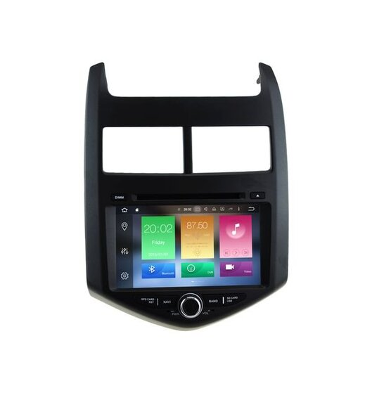 RNavigator Multimedia Navigation GPS - ΟΕΜ 7'' Εργοστασιακού Τύπου Οθόνη - Chevrolet Aveo 2011-2017 - Android 9.0 Pie - 8 πύρηνο - 1.5GHz 64bit CPU Cortex-A53 PX5 Rockchip - 4gb Ram - 32gb Rom Caraudiosolutions