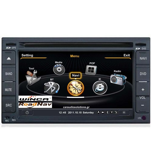 C001 S100 Nissan Navara  Winca Roadnav RN RNavigator RN platinum Bizzar Windows Embedded CE06 Caraudiosolutions