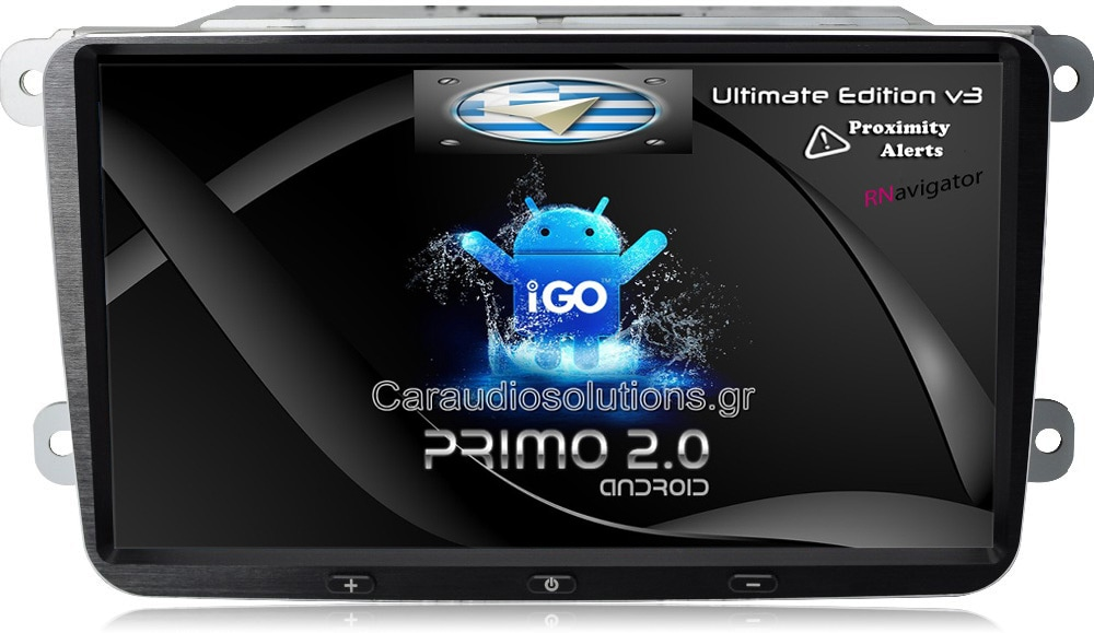 CarPad CP-VW09 S130 VW Group Skoda  Roomster  Bizzar RN RNavigator RN platinum Android 4.4.2 Caraudiosolutions