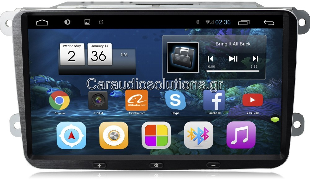 CarPad CP-VW09 S130 VW Group Skoda  Octavia   Bizzar RN RNavigator RN platinum Android 4.4.2 Caraudiosolutions