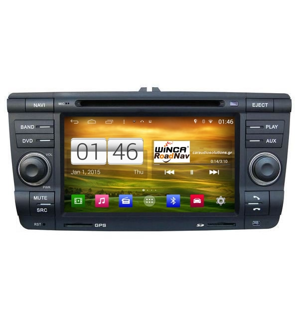 M005 S160 VW Group Skoda Octavia  Winca Roadnav RN RNavigator RN platinum Android 4.4.4 Caraudiosolutions