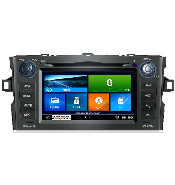F028 S90 Toyota Auris   Winca Roadnav RN RNavigator RN platinum Bizzar Windows Embedded CE06 Caraudiosolutions