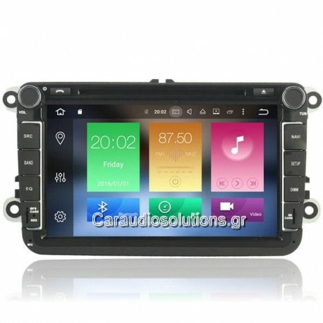 AQ Navi   AQ9370  VW Touran 2003-2016  Android 8  Caraudiosolutions