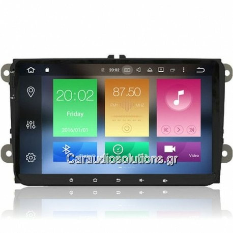 AQ Navi   AQ9370D  VW  Touran 2003-2016   Android 8  Caraudiosolutions